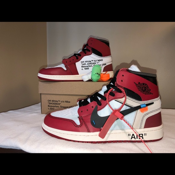purchase cheap 4f089 3ec6e Nike Jordan 1 Off-White Chicago Men's Size 12